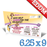 6.25 x 9 Every Door Direct Mail & Design Service
